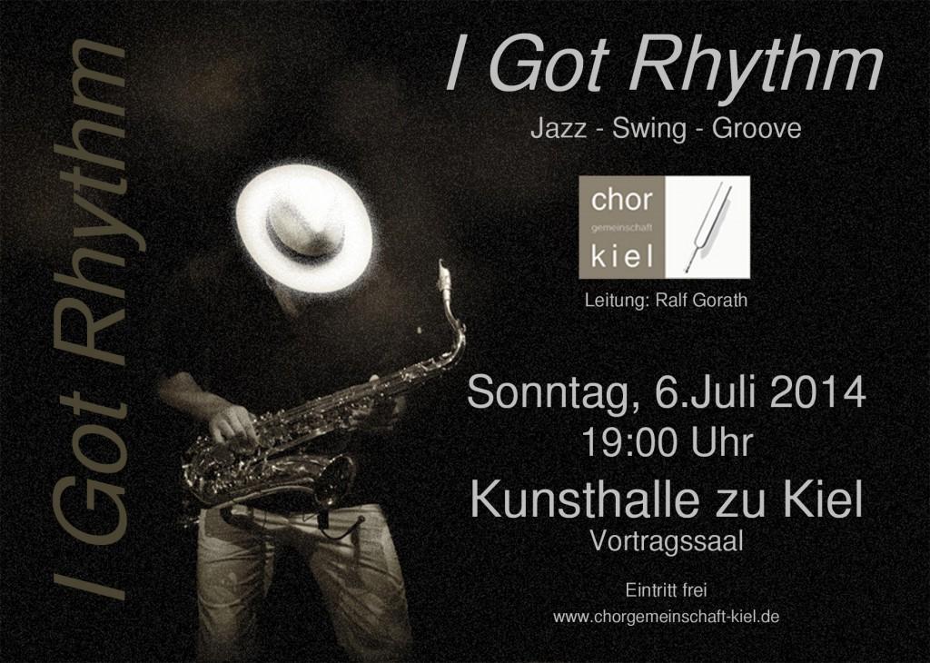 I got rhythm 6.7.